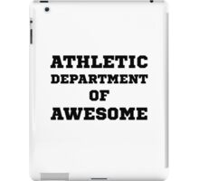 Athletic Department Awesome iPad Case/Skin
