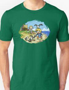 Zelda Wind Waker Link and Aril Unisex T-Shirt