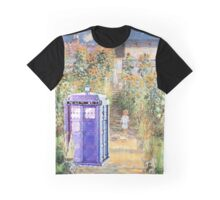 The Doctor in Monet's Garden Graphic T-Shirt