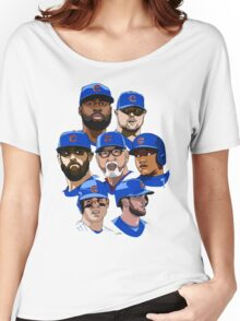 2016 Cubs Women's Relaxed Fit T-Shirt