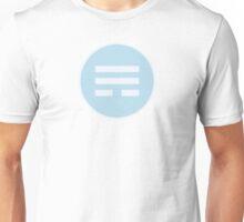 I Ching Wind Trigram ( Xun ) Unisex T-Shirt