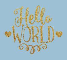 Hello World Kids Tee