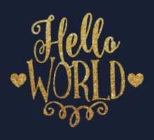 Hello World Kids Tee