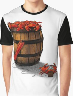 Crabs in a Barrel Graphic T-Shirt