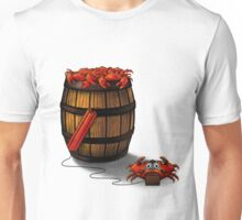Crabs in a Barrel Unisex T-Shirt