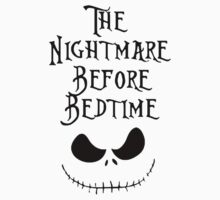 Nightmare Before Bedtime Funny One Piece - Short Sleeve