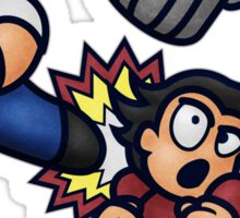 River City Ransom Barf Sticker