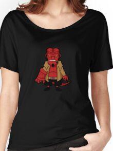 Chibi boy -black- Women's Relaxed Fit T-Shirt