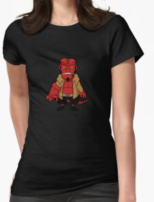Chibi boy -black- Womens Fitted T-Shirt