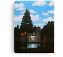 Empire of Light - Magritte Canvas Print