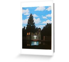 Empire of Light - Magritte Greeting Card