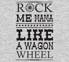 Wagon Wheel Funny One Piece - Long Sleeve