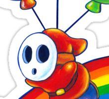 Flight of the Sky Guy Sticker