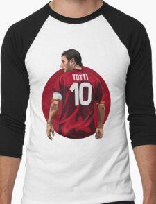 TOTTI Men's Baseball ¾ T-Shirt