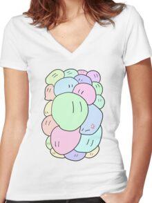 dango dango dango d a n g o Women's Fitted V-Neck T-Shirt