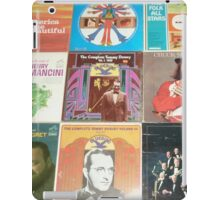 Vintage Records Collection 1D iPad Case/Skin