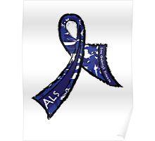 ALS Ribbon Poster
