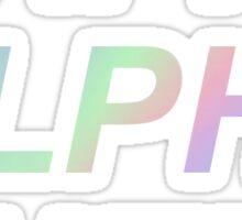 Hologram Kappa Alpha Theta Sticker
