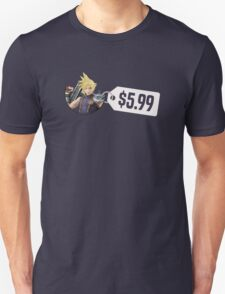 Smash Bros Cloud $5.99 Unisex T-Shirt