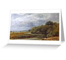 William Gosling - A Tranquil River Greeting Card