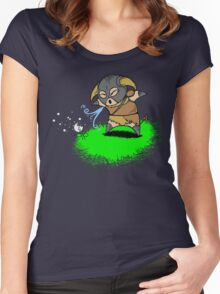 Lil' Dovah Women's Fitted Scoop T-Shirt