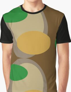 70s style pattern - brown Graphic T-Shirt