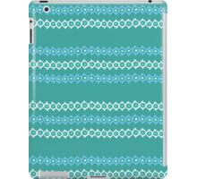 Dotted Lines (Turquoise) iPad Case/Skin