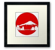 Fujiyama Framed Print