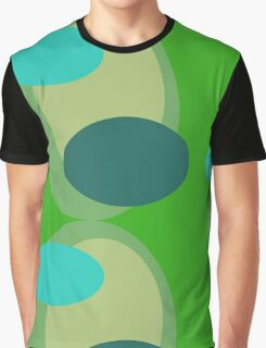 70s style pattern - green Graphic T-Shirt