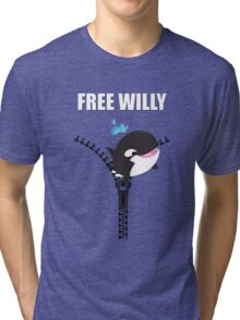 Free Willy Tri-blend T-Shirt