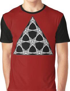 Tetractys Arcs Graphic T-Shirt