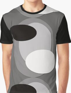 70s style pattern - black and white Graphic T-Shirt