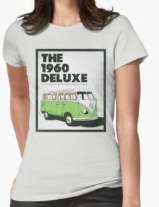 1960 Delux Womens Fitted T-Shirt
