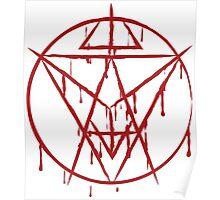 Soul Eater Sigil (Red) Poster
