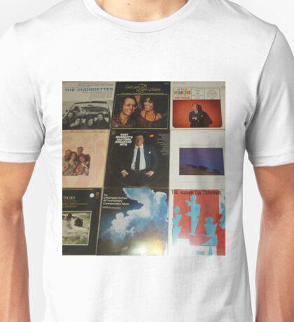 Vintage Records Collection 1E Unisex T-Shirt