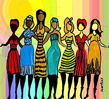 Sisters in Diversity by Sarah Curtiss
