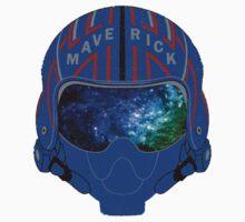 Maverick Helmet Galaxy Kids Tee