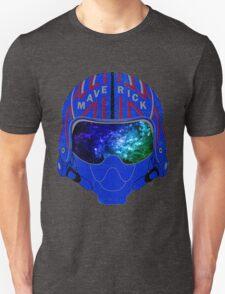 Maverick Helmet Galaxy Unisex T-Shirt