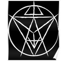 Soul Eater Sigil (Chalk) Poster