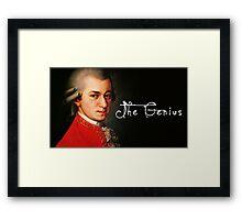 Mozart, the Genius Framed Print