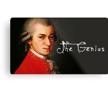 Mozart, the Genius Metal Print
