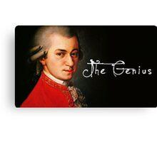 Mozart, the Genius Canvas Print