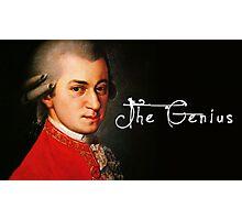 Mozart, the Genius Photographic Print