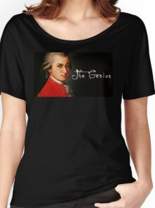 Mozart, the Genius Women's Relaxed Fit T-Shirt