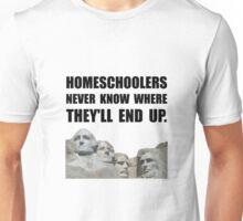 Homeschool Rushmore Unisex T-Shirt
