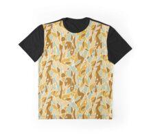 Mondrian Sunflowers Graphic T-Shirt