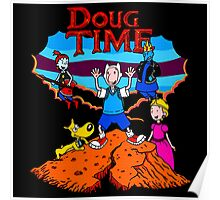 Doug Time Tintin Poster
