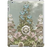 cynical white flower iPad Case/Skin