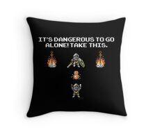 The Legend of Souls Throw Pillow