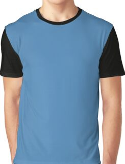 Steel Blue Graphic T-Shirt